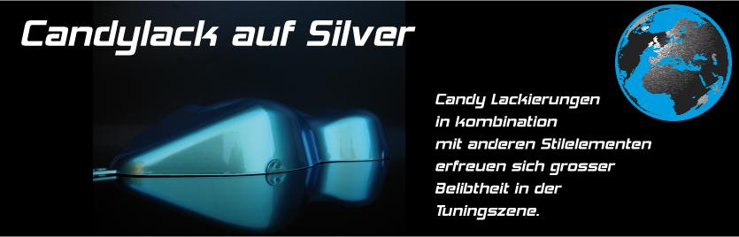 Candylack Effektlack @ Silber