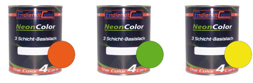 Tagesleuchtfarben | Neonfarben