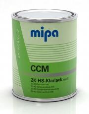 Mipa 2K-HS-Klarlack matt CCM 1 Liter
