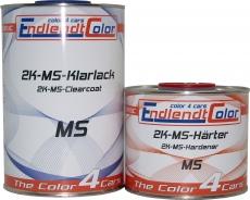 2K Autolack MS Klarlack + Härter 1,5 Liter