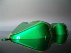 SpearmintGreenSilver Candylack / Effektlack 1 Farbmuster Carshape