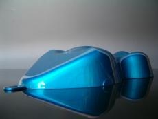 RiverBlueSilver Candylack / Effektlack 1 Farbmuster Carshape