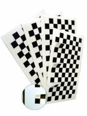 Spritzmusterkarte Paper 7 x 13,5 cm