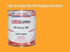 2K Autolack RAL 1003 Signalgelb 1 LTR Hochglanz