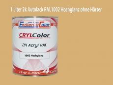 2K Autolack RAL 1002 Sandgelb 1 LTR Hochglanz