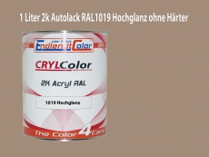 2K Autolack RAL 1019 Graubeige 1 LTR Hochglanz