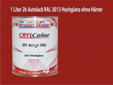 2K Autolack RAL 3013 Tomatenrot 1 LTR Hochglanz