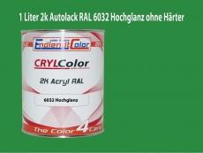 2K Autolack RAL 6032 Signalgrün 1 LTR Hochglanz