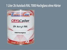 2K Autolack RAL 7000 Fehgrau 1 LTR Hochglanz