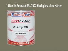 2K Autolack RAL 7002 Olivgrau 1 LTR Hochglanz