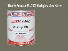 2K Autolack RAL 7003 Moosgrau 1 LTR Hochglanz