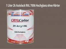 2K Autolack RAL 7006 Beigegrau 1 LTR Hochglanz