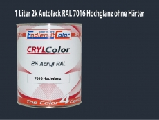 2K Autolack RAL 7016 Anthrazitgrau 1 LTR Hochglanz - Autolack ...