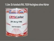 2K Autolack RAL 7039 Quarzgrau 1 LTR Hochglanz