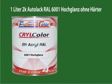 2K Autolack RAL 6001 Smaragdgrün 1 LTR Hochglanz