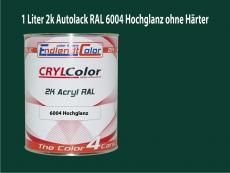 2K Autolack RAL 6004 Blaugrün 1 LTR Hochglanz