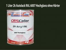 2K Autolack RAL 6007 Flaschengrün 1 LTR Hochglanz