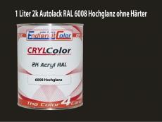 2K Autolack RAL 6008 Braungrün 1 LTR Hochglanz