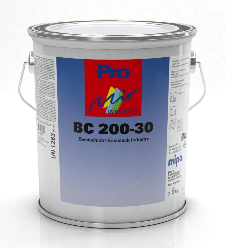 Mipa ProMix Industry 200-30 Zweischicht Basislack farblos 3,75 Kg