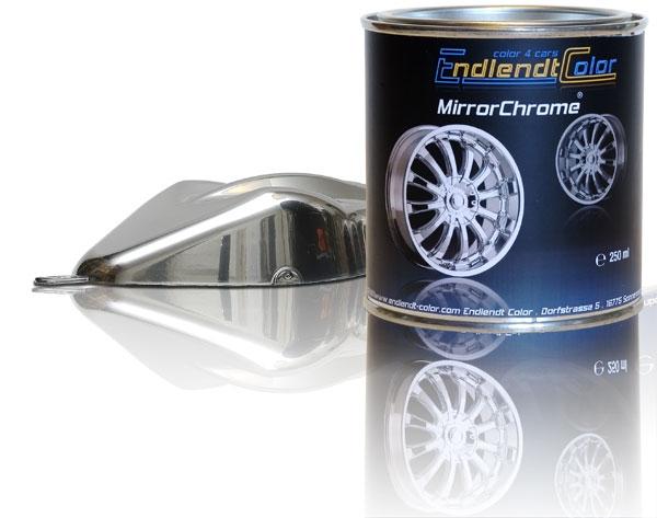 mirrorchrome effektlack chromlack 250 ml endlendt color. Black Bedroom Furniture Sets. Home Design Ideas