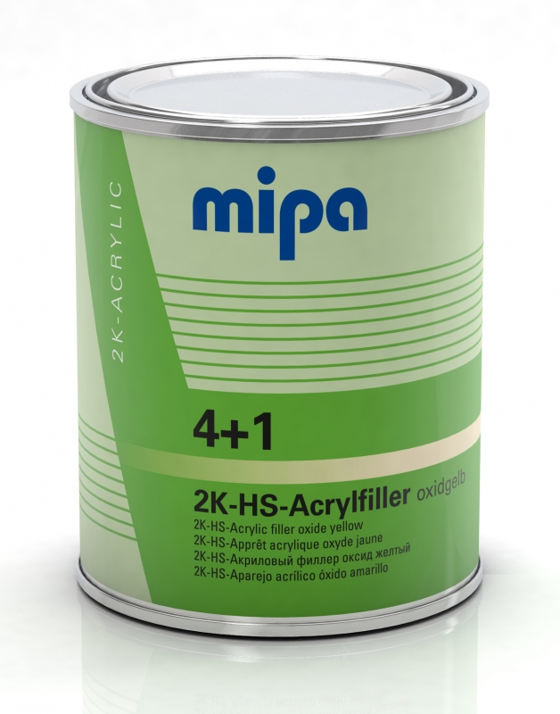 Mipa 4+1 Acrylfiller HS oxidgelb 1 Liter
