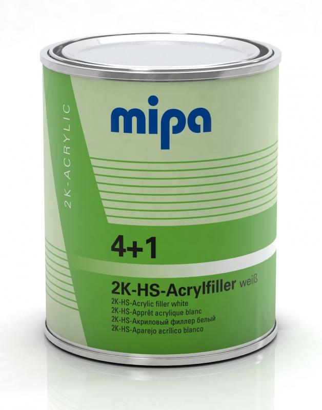 Mipa 4+1 Acrylfiller HS weiß 1 Liter