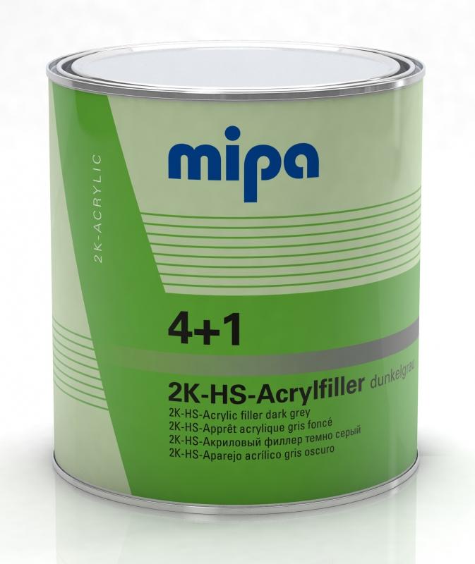 Mipa 4+1 Acrylfiller HS dunkelgrau 3 Liter