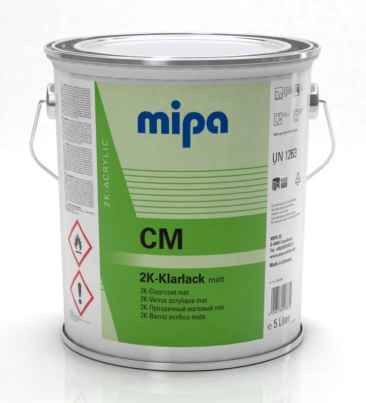 Mipa 2K-Klarlack matt CM 5 Liter