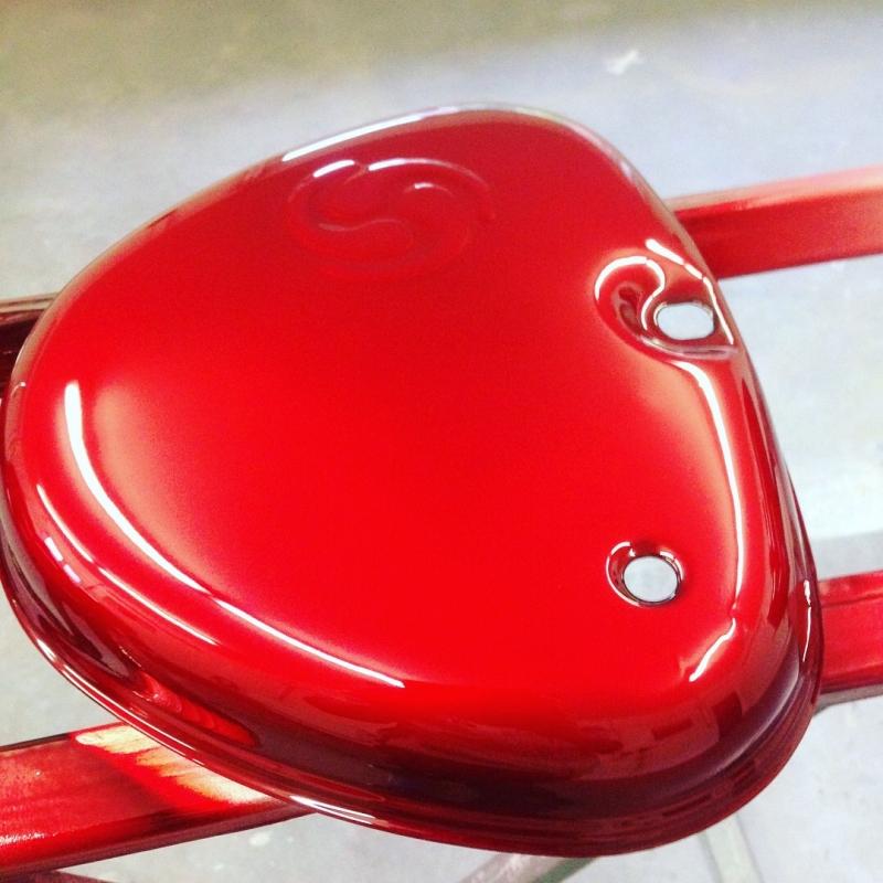 strawberryredsilver candylack effektlack 250 ml. Black Bedroom Furniture Sets. Home Design Ideas