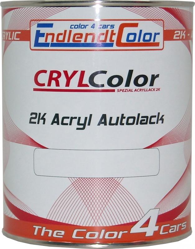 2K Autolack Wunschfarbe in unverdünnt 1 Liter
