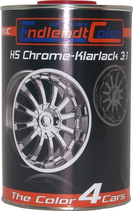 2K-HS Chrome Klarlack 3:1, 1 Liter