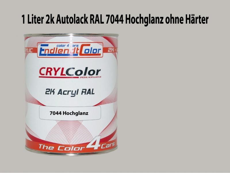 2K Autolack RAL 7044 Seidengrau 1 LTR Hochglanz