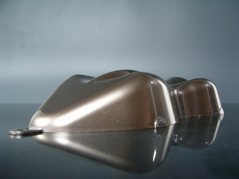 Flip Flop Lack Effektlack Silver / Black CarShape Muster