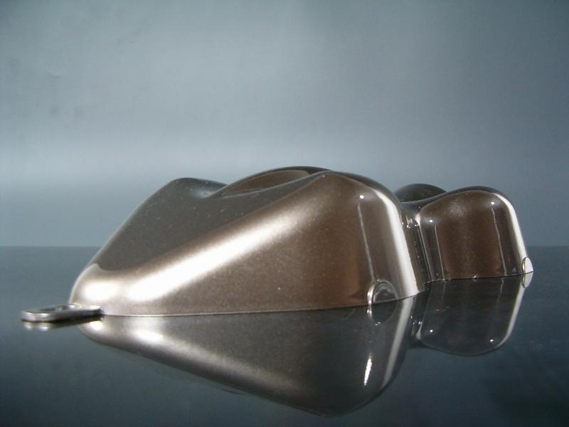 Flip Flop Lack Effektlack Silver / Black 1 Liter unverdünnt