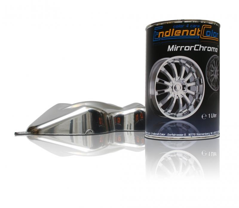 MirrorChrome Effektlack Chromlack 1 Liter