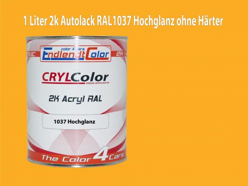 2K Autolack RAL 1037 Sonnengelb 1 LTR Matt