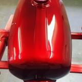 StrawberryRedSilver Candylack / Effektlack 1 Liter unverdünnt