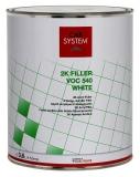 Car System 2K VOC Füller 540 grau 3,6 Liter
