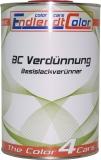 1 Liter Basislackverdünner für BC Autolack und Effektlacke