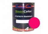 Tagesleuchtfarbe Neonlack Kirschrot Autolack 1 Liter