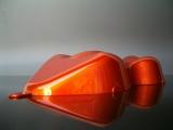 RedOrangeSilver Candylack / Effektlack 1 Farbmuster Carshape
