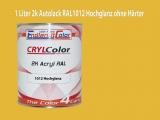 2K Autolack RAL 1012 Zitronengelb 1 LTR Hochglanz