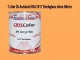 2K Autolack RAL 1017 Safrangelb 1 LTR Hochglanz