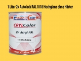 2K Autolack RAL 1018 Zinkgelb 1 LTR Hochglanz