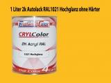 2K Autolack RAL 1021 Rapsgelb 1 LTR Hochglanz