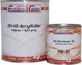 2K HS Acryl Füller 4:1 hellgrau inkl. Härter fast 1,65 Kg ~ 1,25 Liter SET