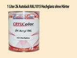 2K Autolack RAL 1015 Hellelfenbein 1 LTR Hochglanz
