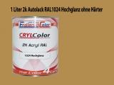 2K Autolack RAL 1024 Ockergelb 1 LTR Hochglanz