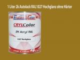2K Autolack RAL 1027 Currygelb 1 LTR Hochglanz
