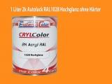 2K Autolack RAL 1028 Melonengelb 1 LTR Hochglanz